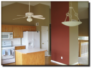Atlas Coatings & Construction Interior House Painting Olathe, Overland Park, Leawood, Lenxa, Shawnee, Mission Kitchen Painting After