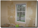 Atlas Coatings & Construction Room after Wallpaper Stripping & Painting before Olathe Kansas